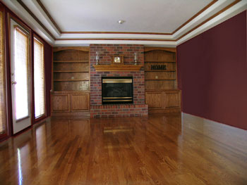 wood colored paintColor Advice 101 Choosing Color For A Dark Room  Devine Colors Blog