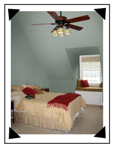 Ceilings how to paint sloped ceilings devine color 39 s blog for Painting rooms with angled ceilings