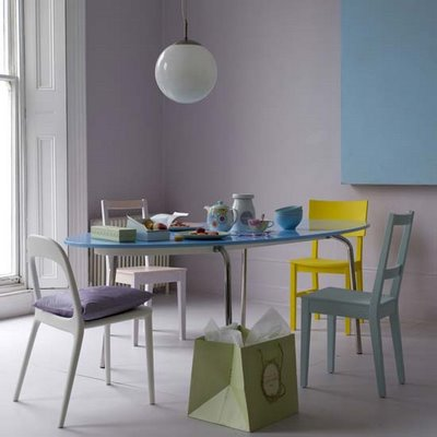 Pastel Wall Colors barely there…pastel paint colors! - devine color's blog