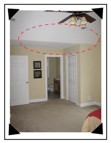 Ceilings how to paint sloped ceilings devine color 39 s blog - Slanted ceiling paint ideas ...