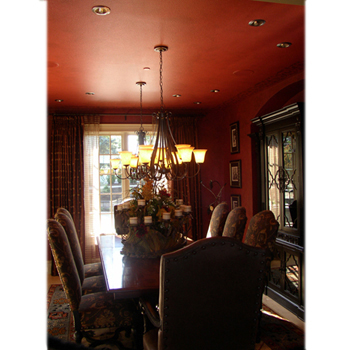 Dining Room on Beautiful Devine Rooms  Dining Room  Royal Red