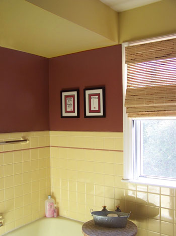 Bathroom on Beautiful Devine Bathrooms  Bathrooms  Paint Colors For Retro Yellow